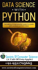 Data Science with Python by Society of computer science