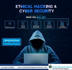 Ethical Hacking with Cyber Security by society of computer science