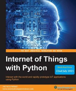 IoT with Python by society of computer science