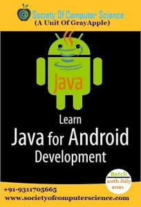 Society of computer science java with android