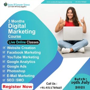 Website Design & Development With Digital Marketing By Society Of Computer Science